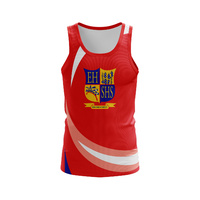 Sublimated Athletics Singlet - 150gsm Micromesh