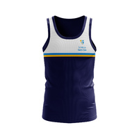 Sublimated Training Singlet - 150gsm Micromesh