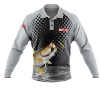 Sublimated Fishing Shirt - Long Sleeve - 175gsm Ultramesh