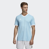 Adidas Tabela 18 Jersey - Clear Blue / White