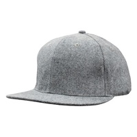 Grey Marle Flannel Snap Back