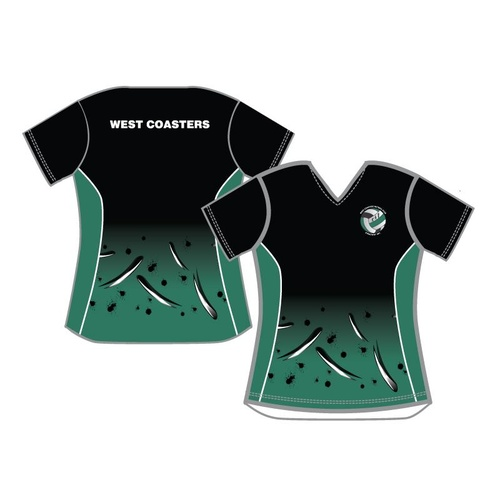 West Coasters NC Training Shirt